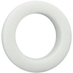 """Bulk Buy: Floracraft Beveled Styrofoam Wreath 12""""X1 1/4""""X..."""