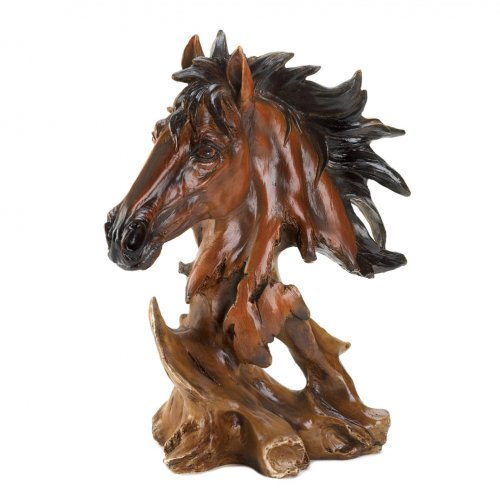 Home Locomotion Magnificent Horse Bust