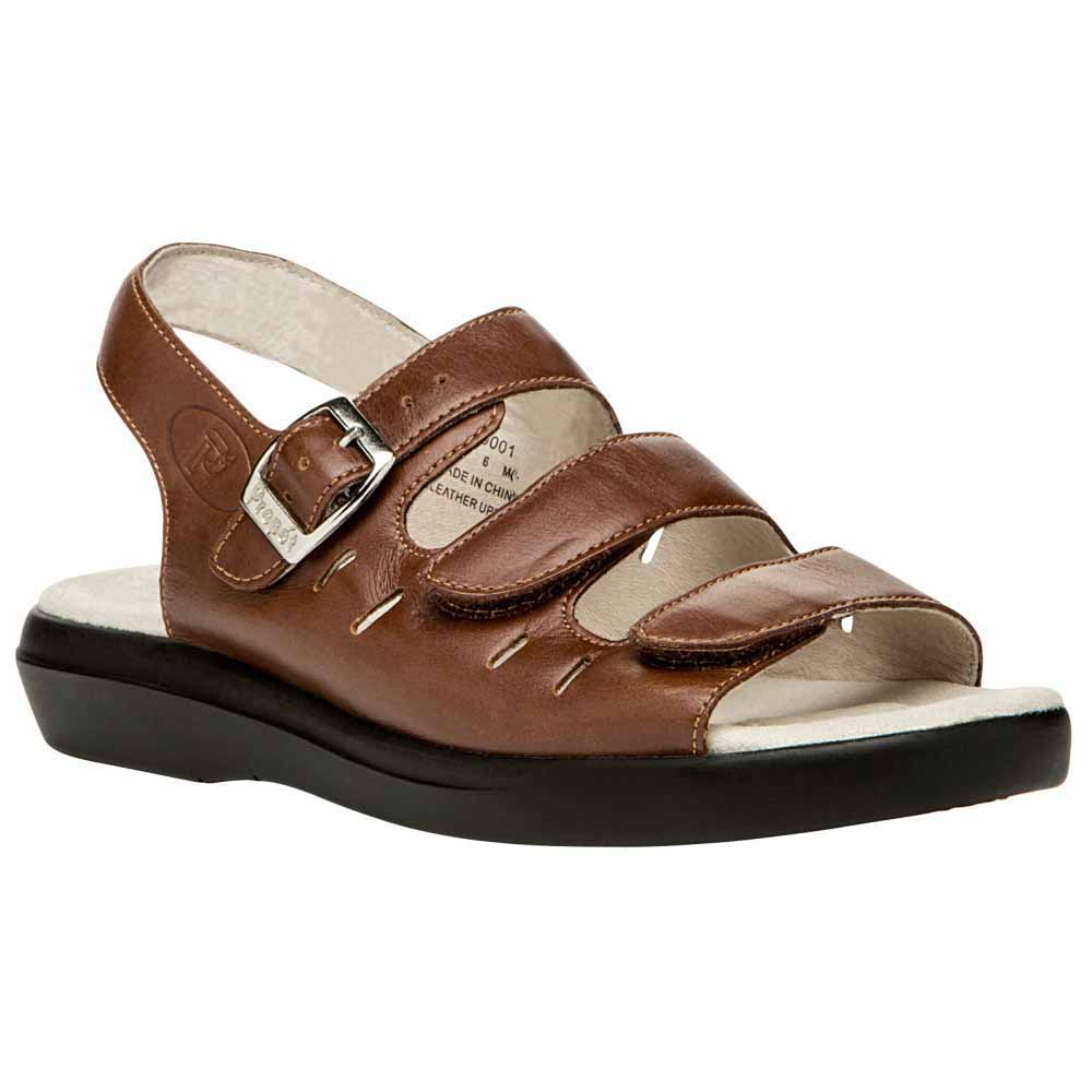 Propet Breeze Sandals Women's Teak Brown by Propet