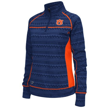 Auburn Tigers Womens Ncaa  Baldwin  1 4 Zip Pullover Sweatshirt