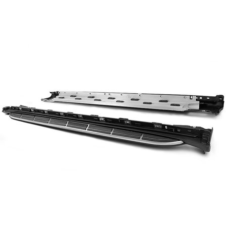 Porsche 11-18 Cayenne Running Board Side Step Nerf Bar Aluminum Rocker Rail Kits ()