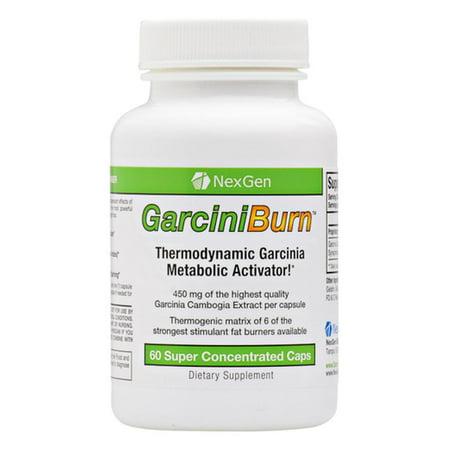GarciniBurn nuevos de pérdida de grasa de la dieta y pastillas revolucionarios 60 Capsulas