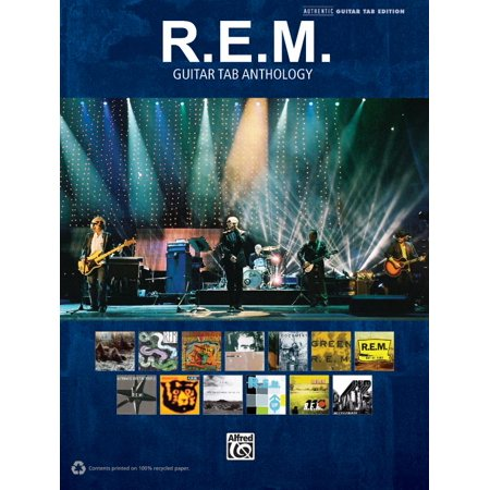 Authentic Guitar-Tab Editions: R.E.M. - Guitar Tab Anthology (Paperback) - This Is Halloween Metal Guitar Tab