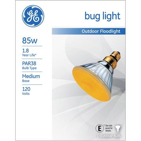 Ge 85 Watt Par 38 Bug Light Floodlight  1 Pack