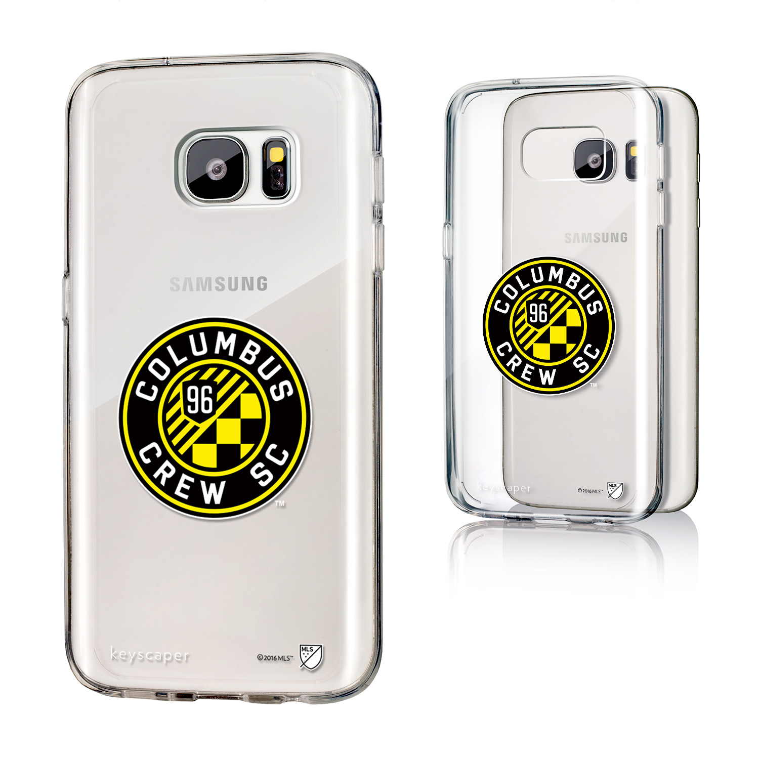 Columbus Crew Clear Case for the Galaxy S7 MLS