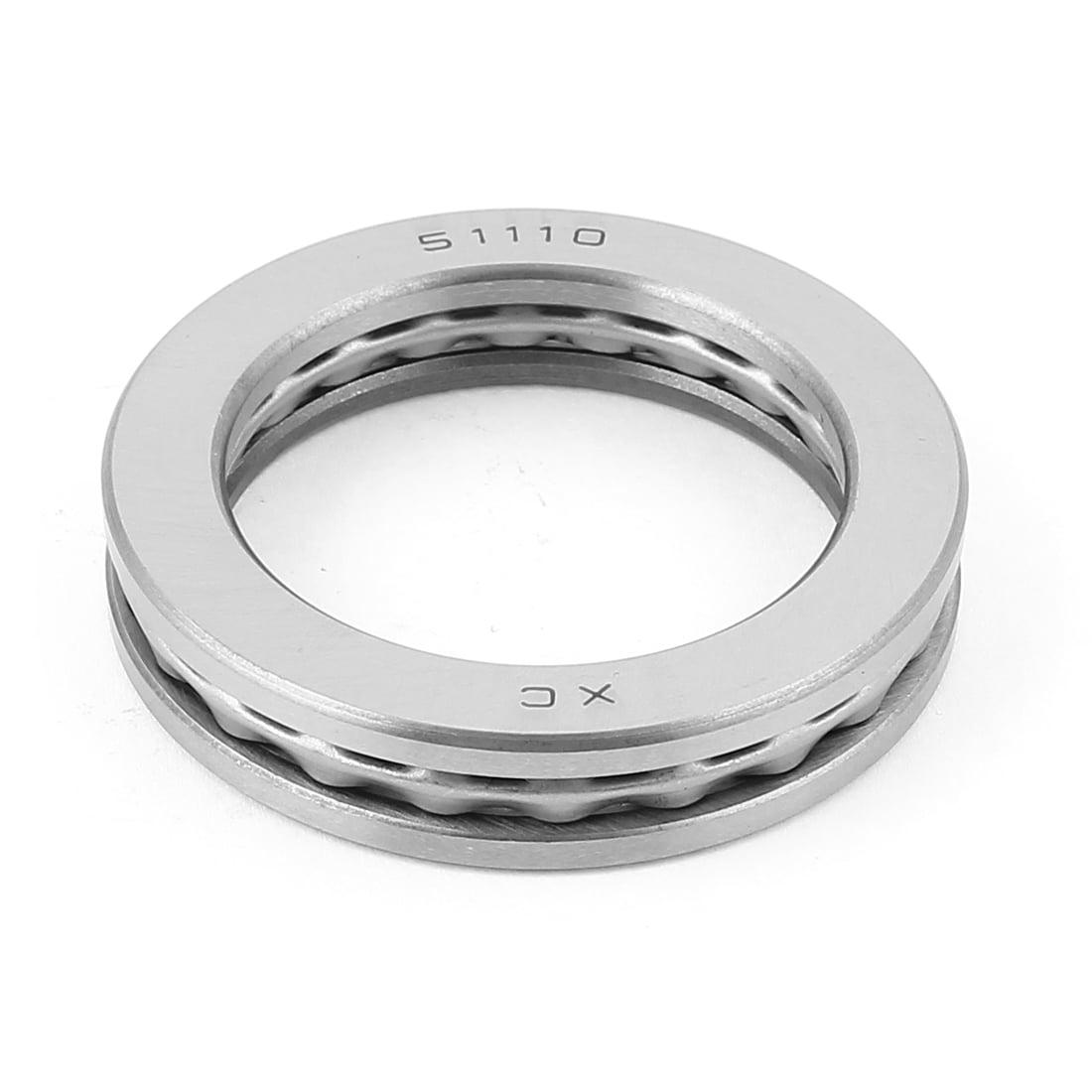 Unique Bargains 51110 Single Direction Thrust Ball Bearings 70x50x14mm - image 2 de 2