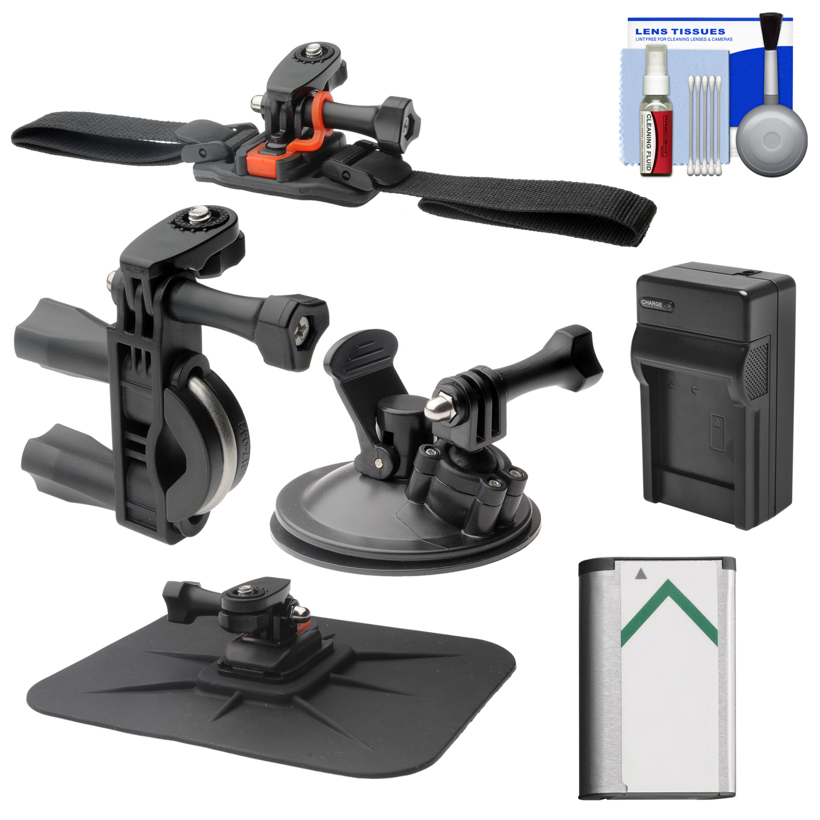 Vivitar Essentials Bundle for Sony Action Cam HDR-AS50, A...