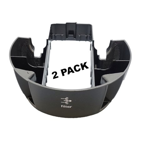- 2 Pk, Bissell Cleanview Upright Vacuum Post Motor Filter Tray, 1600762