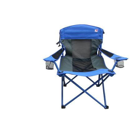 Outdoor Spectator 500lb.Capacity Big Boy Quad Folding Camp Chair (Mesh & (Outdoor Quad)