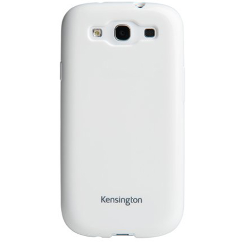 Kensington 39653 Gel Case for Samsung Galaxy S3, White