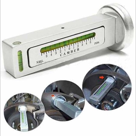 Magnetic Alignment Camber Gauge Four Wheel Positioning Magnetic Level Ruler - image 6 de 9