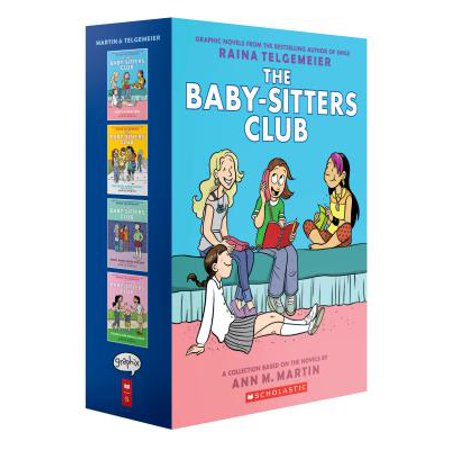 The Baby-Sitters Club Graphix #1-4 Box Set: Full-Color