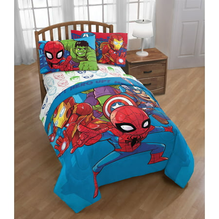 Marvel Amigos Toddler Bed Set ()