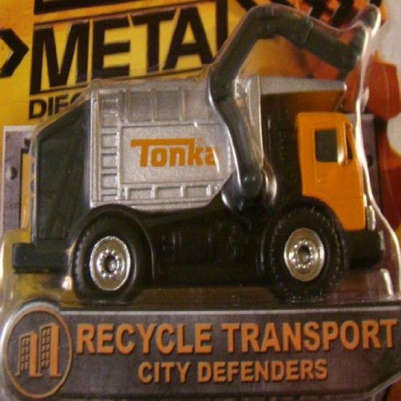Tonka Metal Diecast Bodies – City Defenders RECYCLE TRANSPORT