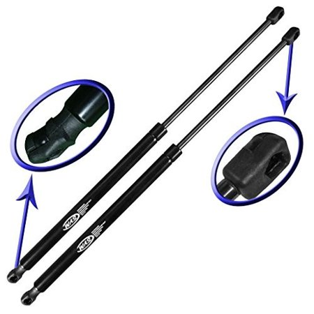 Chrysler Town Country Rear Door - Two Rear Hatch Gas Charged Lift Supports for 2008-2014 Dodge Grand Caravan With Power Hatch, 2008-2014 Chrysler Town & Country With Power Hatch. Left and Right Side. WGS-477-2