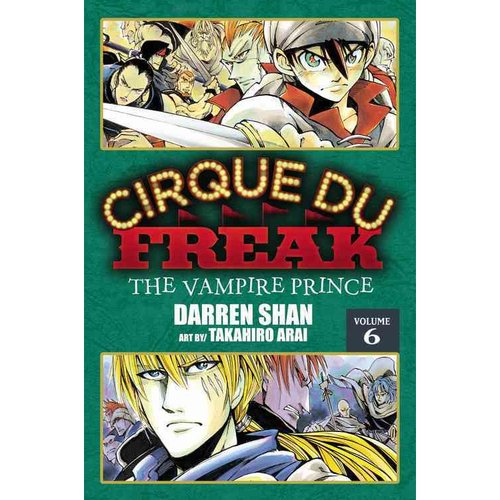 Cirque Du Freak 6: The Vampire Prince