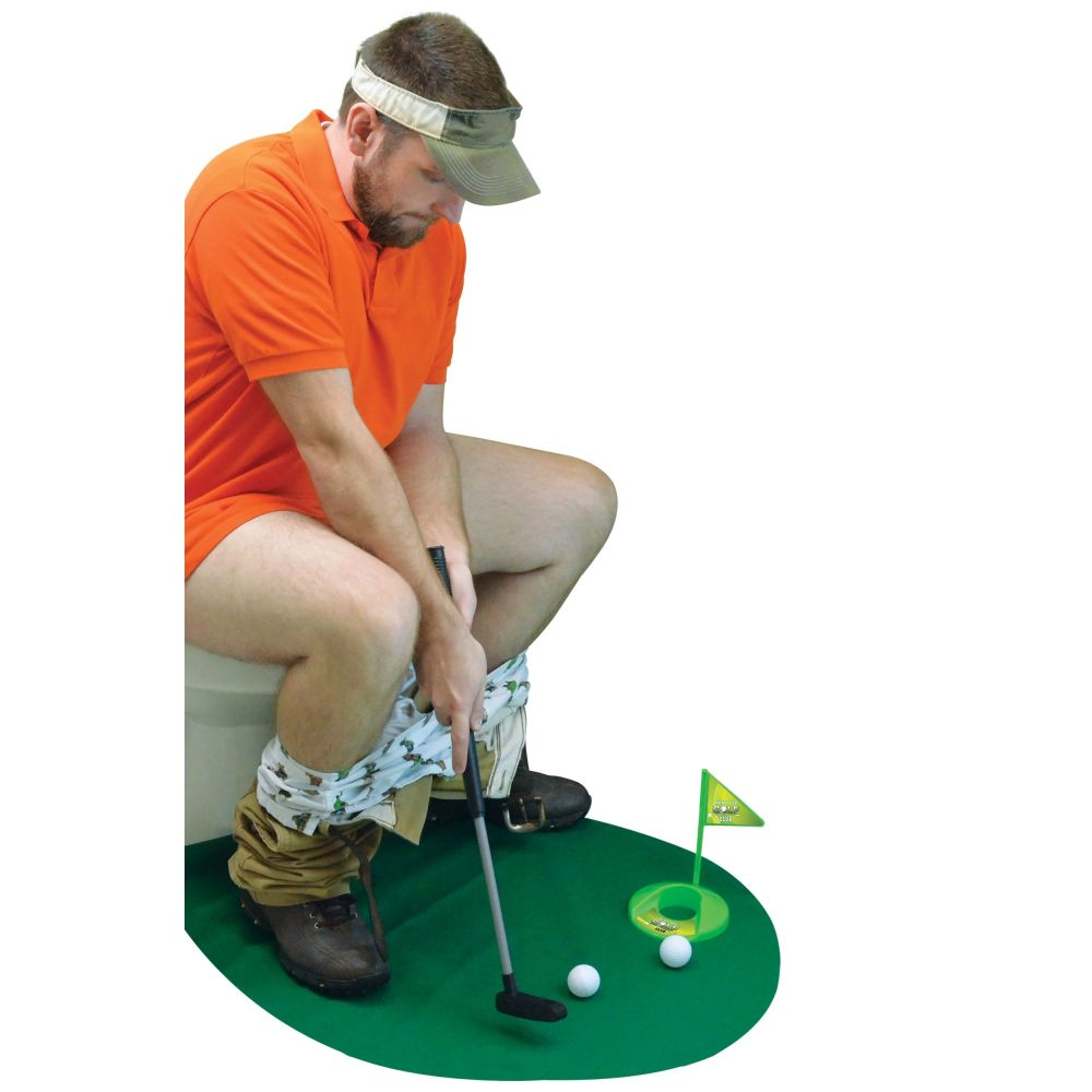 Potty Putter Toilet Time Golf Game by Fairly Odd Novelties