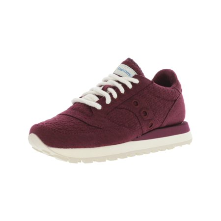 Saucony Women's Jazz Original Burgundy Ankle-High Running Shoe - 5M