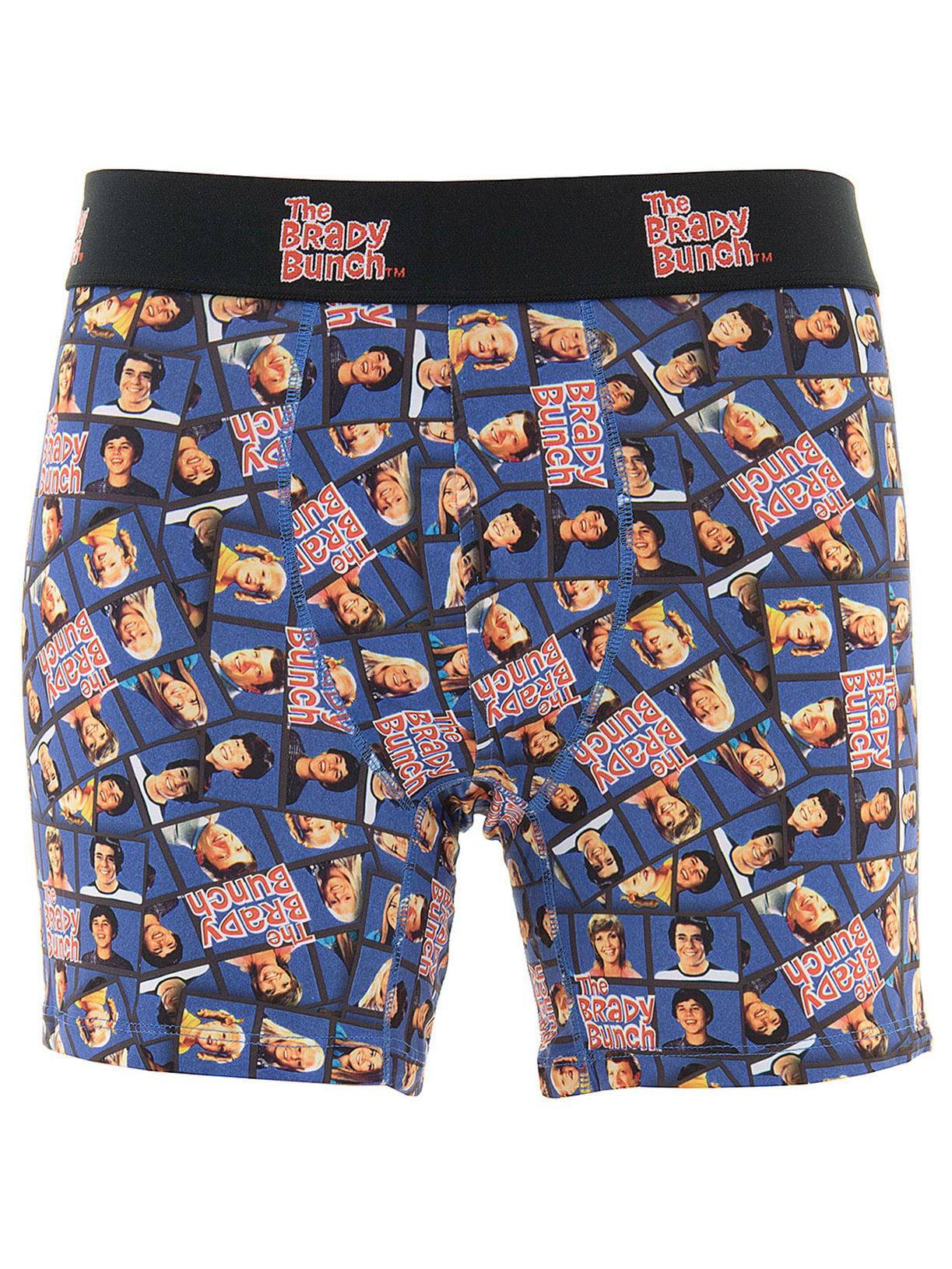 The Brady Bunch Boxer Men\'s Blue Briefs - Walmart.com