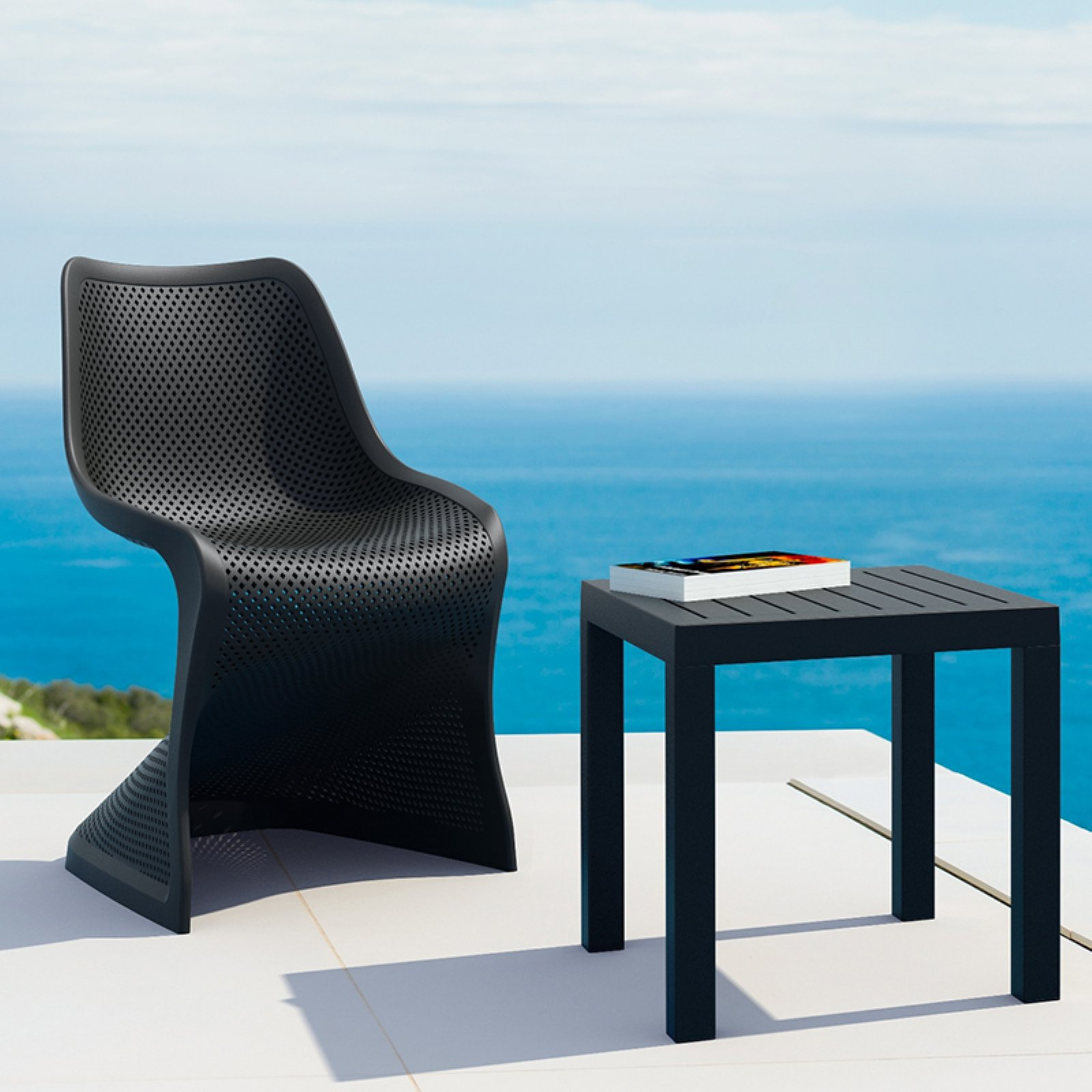 Compamia Bloom Patio Dining Chair - Set of 2