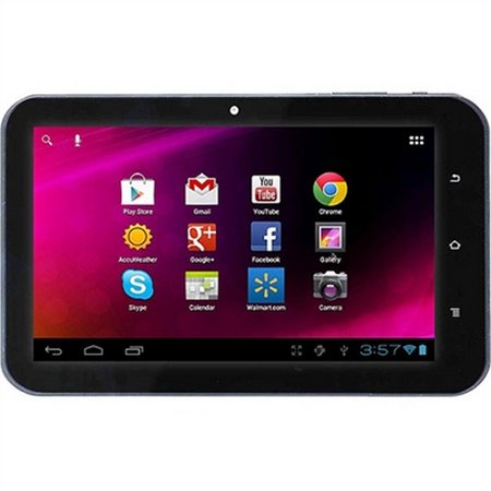 GET Refurbished HKC LC07740 7 Tablet 1GHz 1GB 8GB Wifi Android 4.0 - Red (LC07740RD) NOW