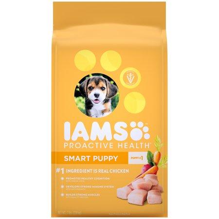 IAMS PROACTIVE HEALTH Smart Puppy Dry Dog Food Chicken, 7 lb.