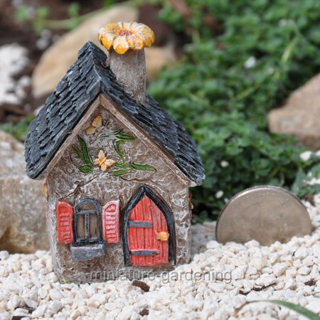 Miniature Itty Bitty Butterfly House for Miniature Garden, Fairy Garden](Butterfly Fairy)