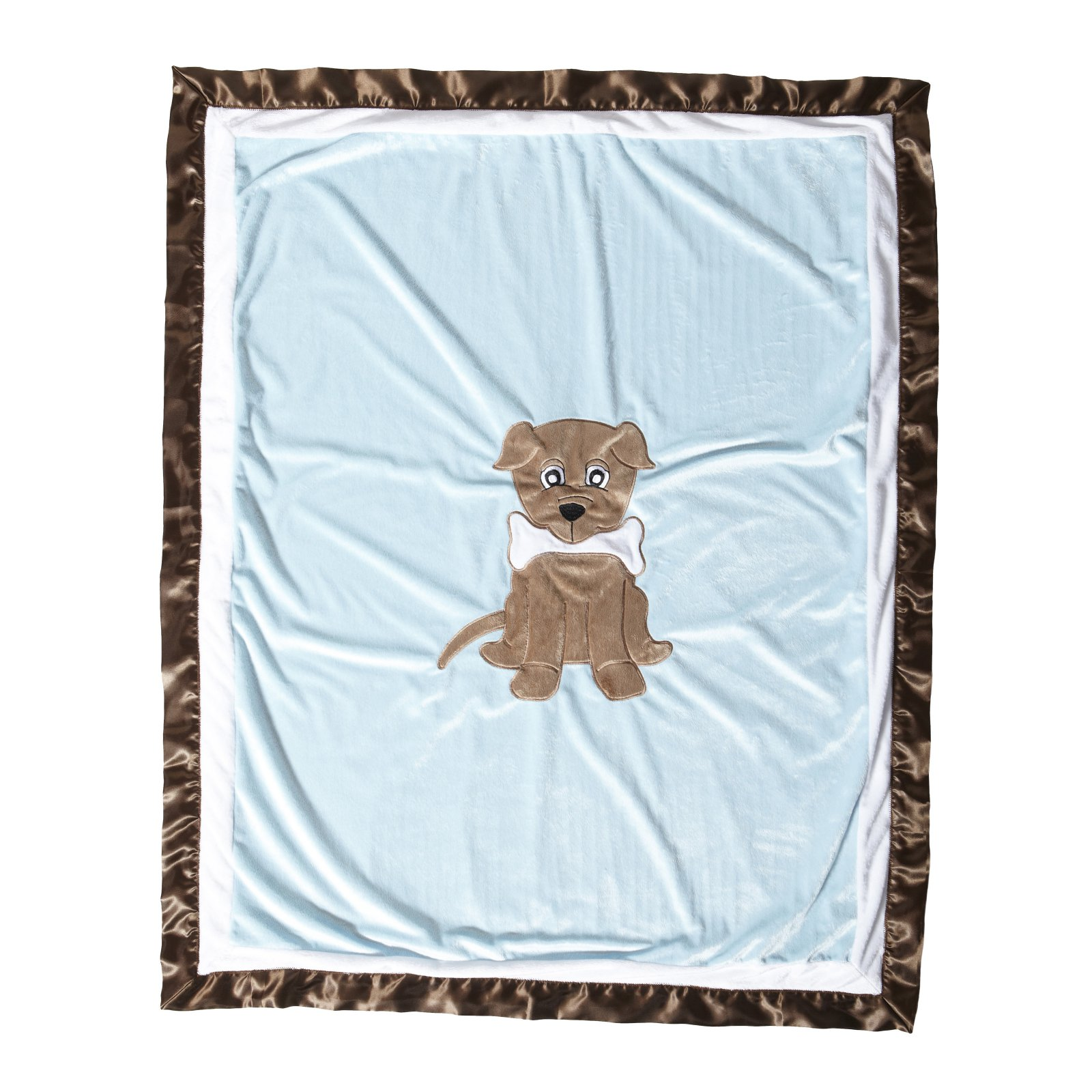 Puppy Pal Boy Medium Quilt with Applique