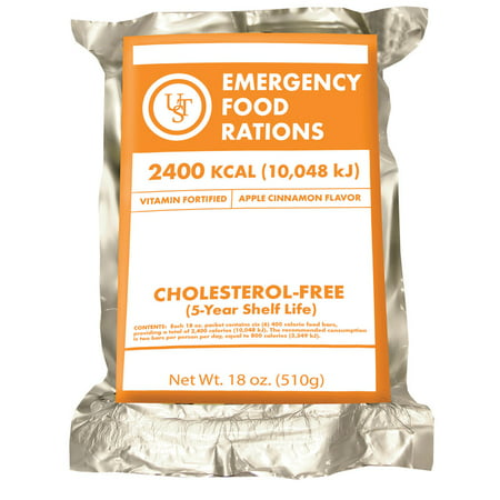 Ultimate survival technologies 5 year emergency food for Food bar emergency