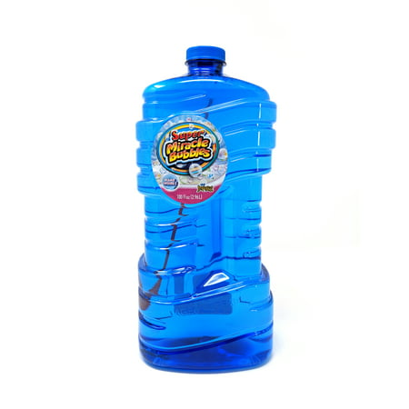 ImperialA® Toy Super MiracleA® Bubbles With 100 oz Bubble Solution, 1 Bottle Per Order, Color May Vary
