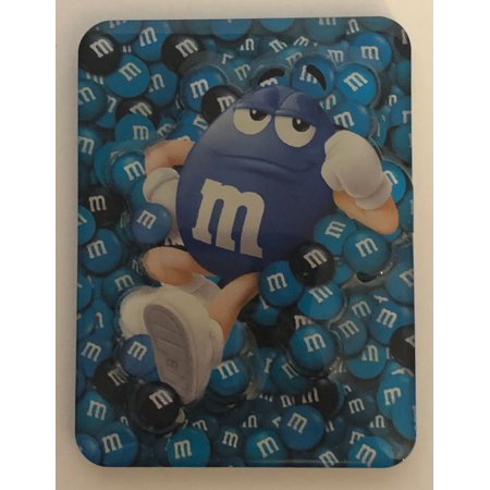 M&M's World Blue Characters Magnet New