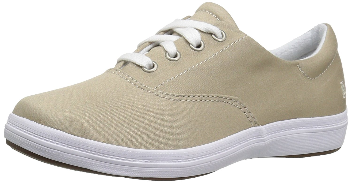 Grasshoppers Womens janeyII Fabric Low Top Lace Up Fashion Sneakers by Grasshoppers
