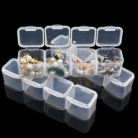 Paint Storage Containers (2 Pack 28 Grids Diamond Embroidery Box Adjustable Storage Boxes Of Diamond)