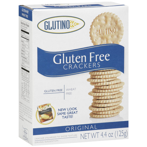 Glutino Original Crackers, 4.4 oz