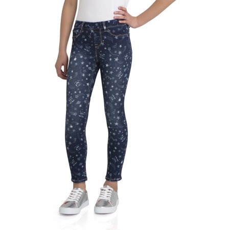 Printed Pull-On Jegging (Little Girls & Big Girls) - Girls Apparel