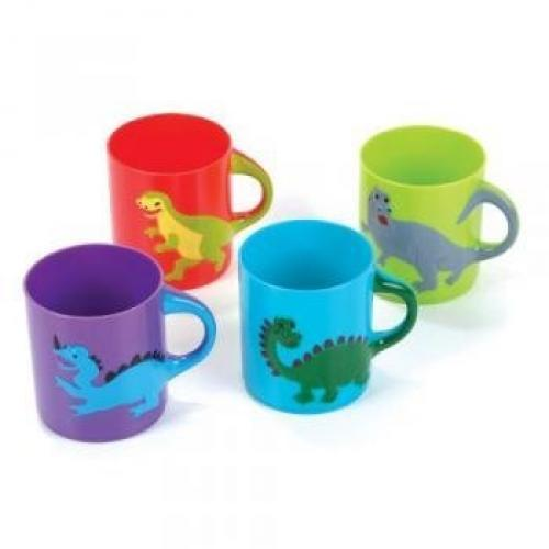 Dinosaurs Mugs Assorted colors and designs (1 - Dinosaur Cup