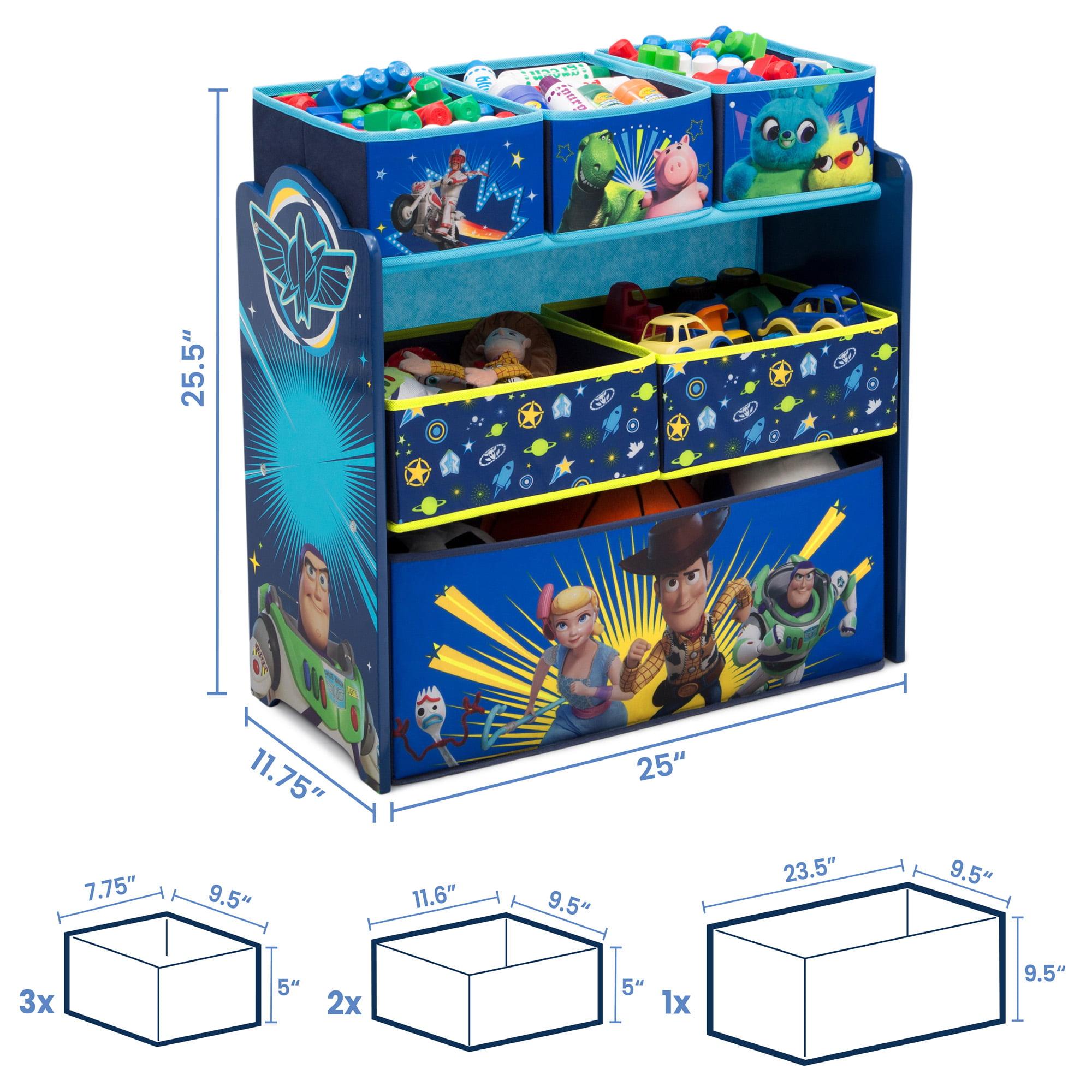 Disney/Pixar Toy Story 4 Design and Store Toy Organizer by Delta Children -  Walmart.com - Walmart.com