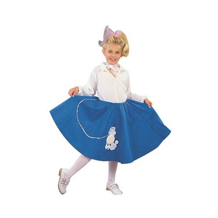 Poodle Skirt Child Costume (Punk Skeleton Costume)