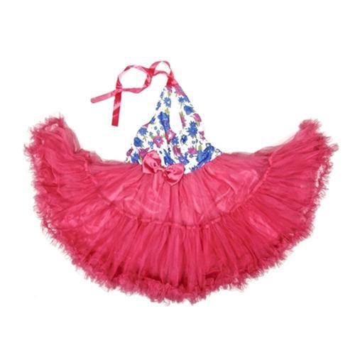 Wenchoice Hot Pink Sheer Fairy Long Dress Girl S-XL