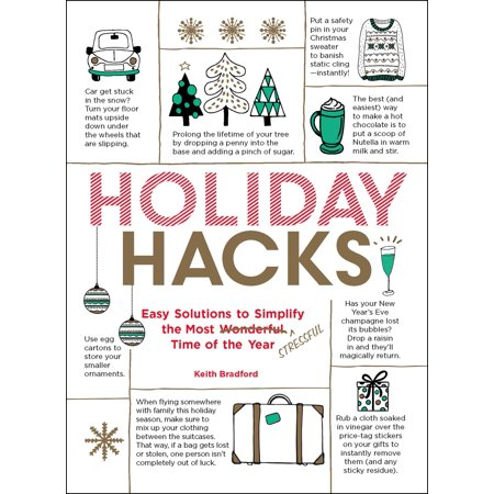 Holiday Hacks : Easy Solutions to Simplify the Most Wonderful Time of the Year (Halloween Most Wonderful Time)