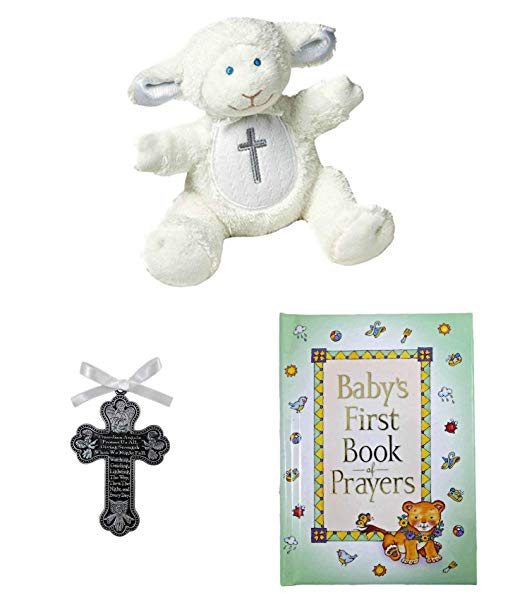 Plushies & Stuffed Animals Personalised Baptism/Christening Memento Teddy Bear With Matching Gift Bag Toys & Games