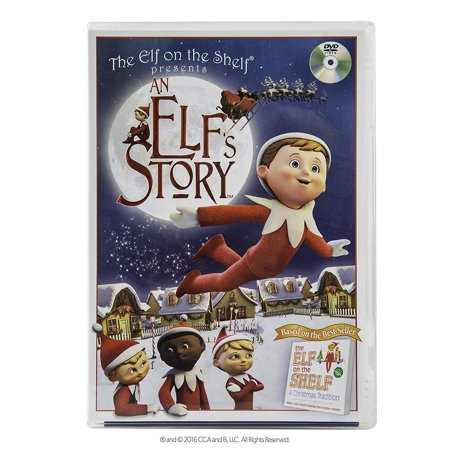 An Elf's Story DVD, Based on the bestselling Christmas tradition The Elf on the Shelf By The Elf on the (Magical Christmas Elf)