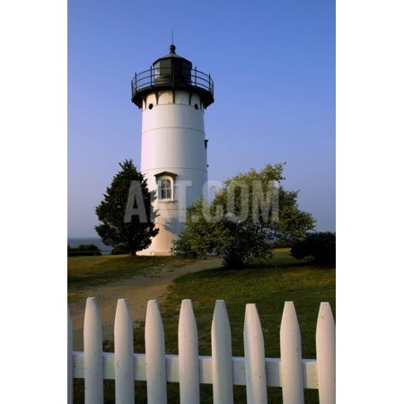 East Chop Lighthouse Print Wall Art By Judy Reinford