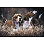 """Fiddler's Elbow Doormat - D29 Beagle - 18"""" x 27"""" Indoor/Outdoor Designer Mat"""