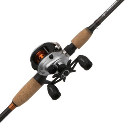 Pflueger Monarch Low Profile Baitcast Reel and Fishing Rod Combo