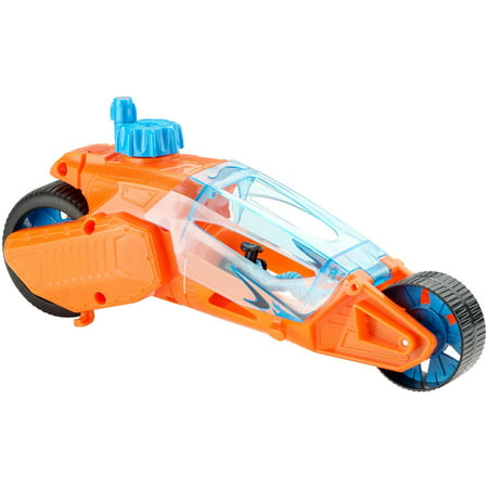 Hot Wheels Speed Winders Twisted Cycle - Orange