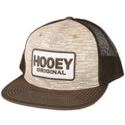 hooey mens   original /tan trucker cap os brown