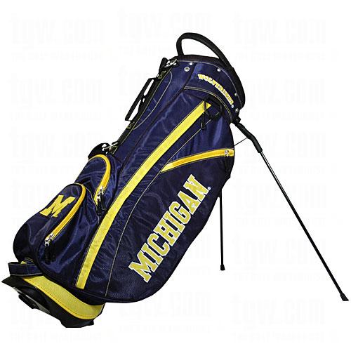 Team Golf NCAA Michigan Fairway Golf Stand Bag