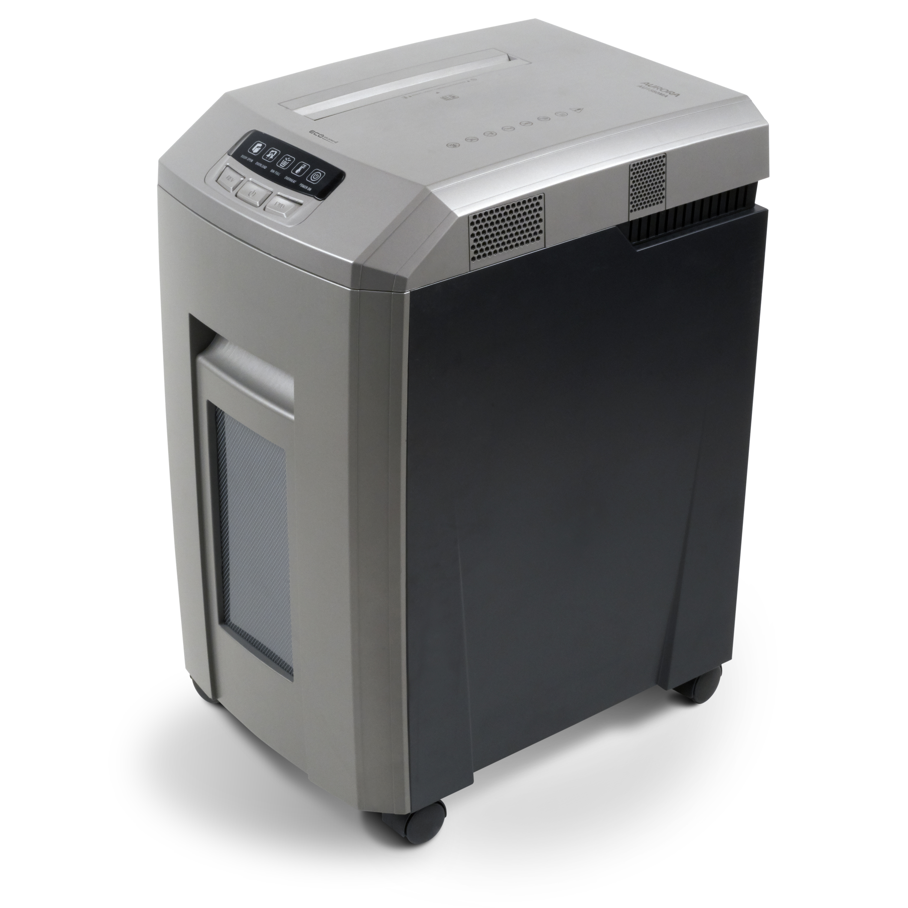 Aurora Professional Grade High Security 15-Sheet Micro-Cut Paper/ CD and Credit Card Shredder/ 60 Minutes Continuous Run Time