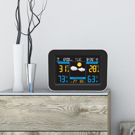 HD Color Screen WIFI Weather Station for Home & Office - 3